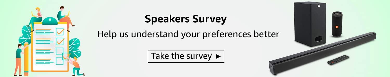 Speakers survey