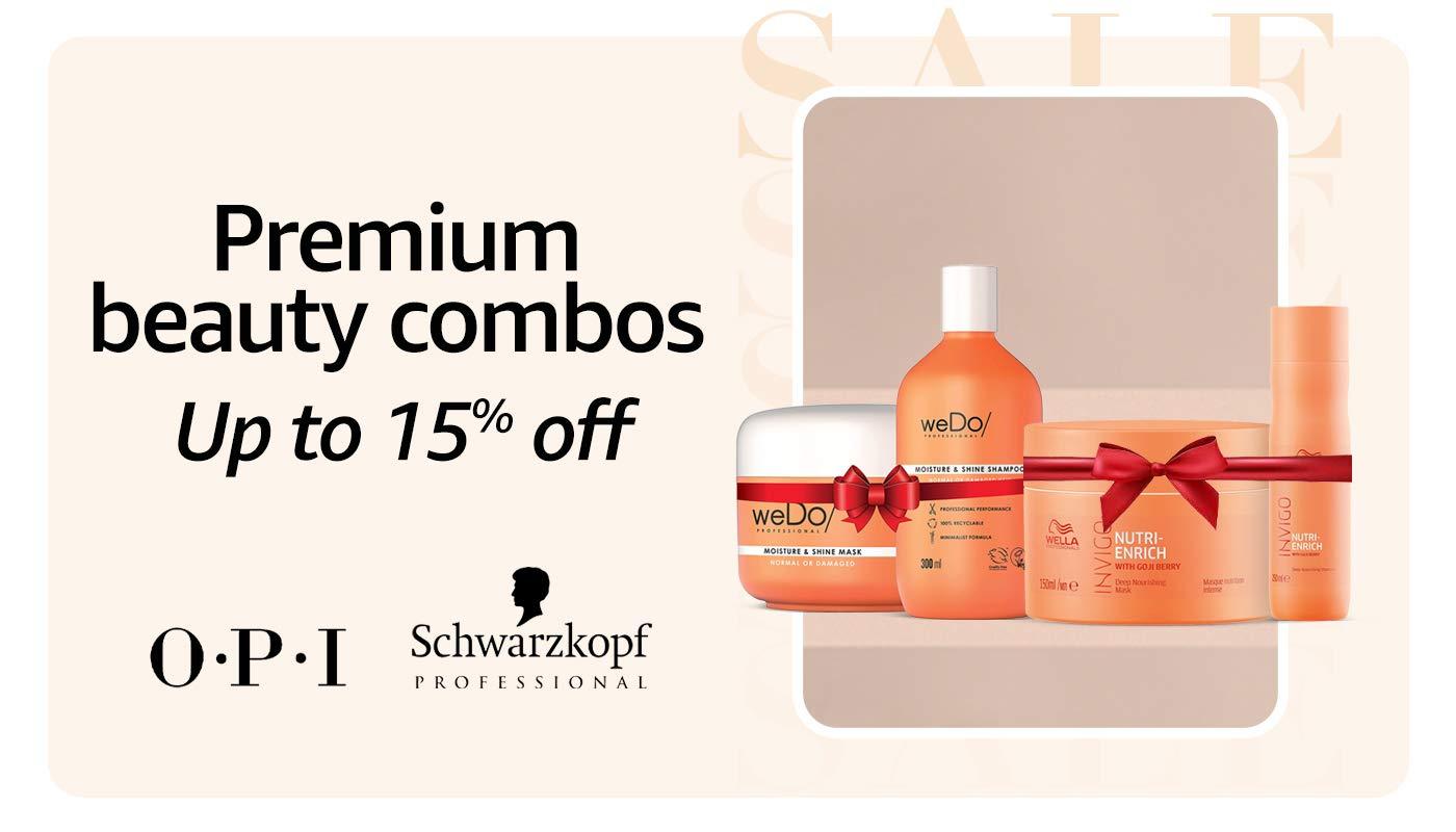 Premium beauty combos