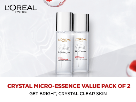 Loreal Crystal pack of 2