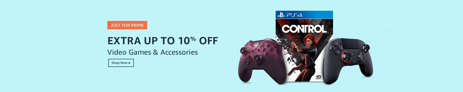 Extra up to 10% off | Videogames