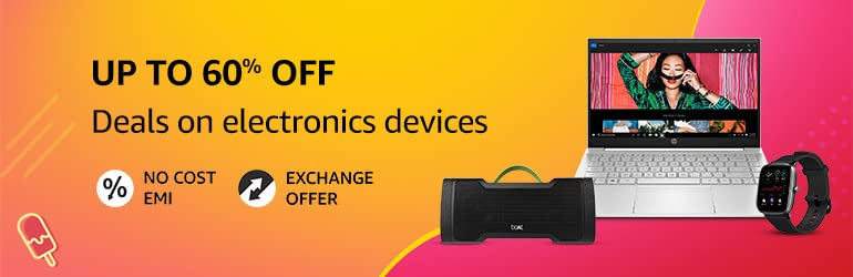 UP to 60% off | Deals on Electronics Device
