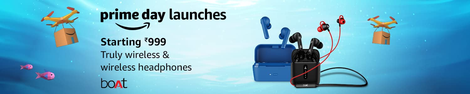 Boat Earphones and TWS Airdopes Prime Day Launches in India 2021