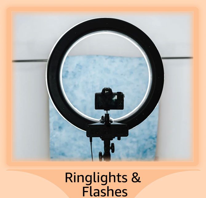 Ringlights and flashes