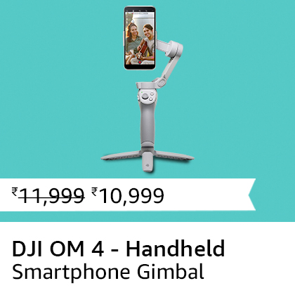 DJI OM 4 - Handheld Smartphone Gimbal