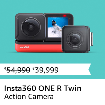 Insta360 ONE R Twin Edition Sports Action Camera