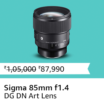 Sigma 85mm f1.4 DG DN Art Lens