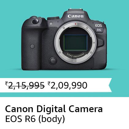Canon Digital Camera EOS R6 (body)