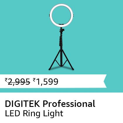 DIGITEK Professional LED Ring Light