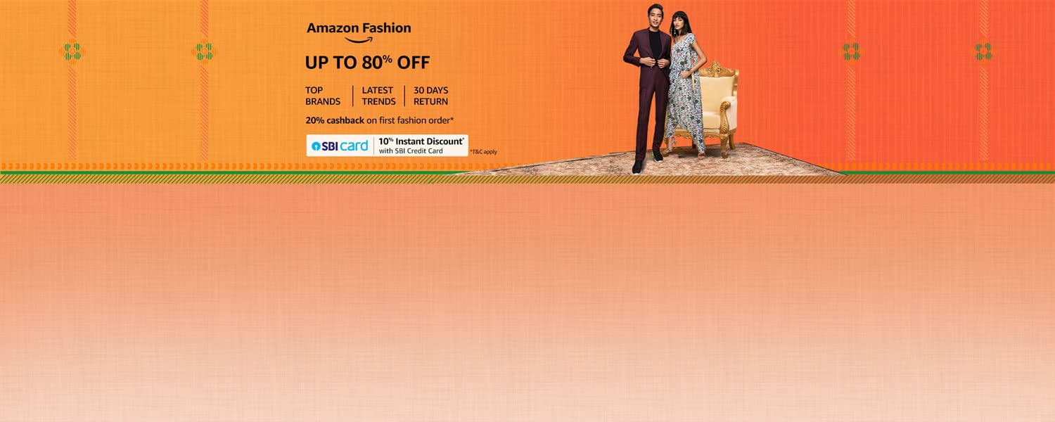 amazon.in - Upto 80% OFF on Fashion Wear and Accessories
