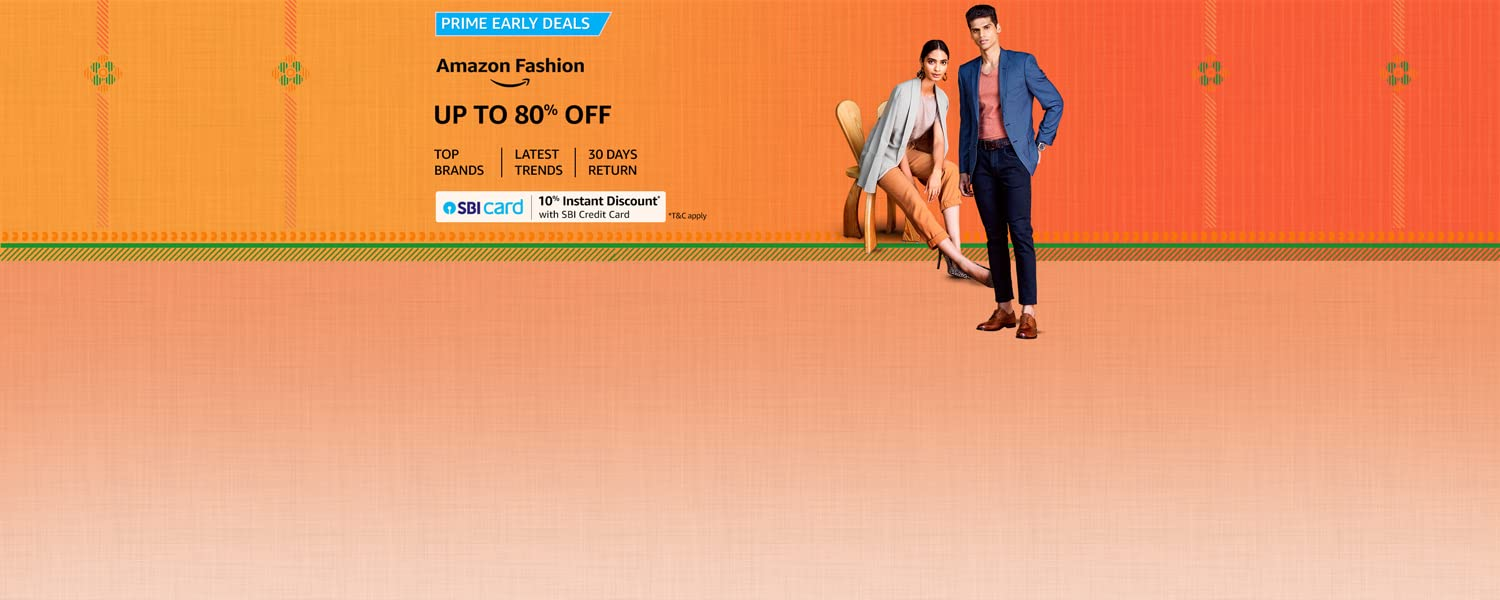 amazon.in - Get Up To 80% Off on Fashion