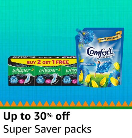 Super saver packs