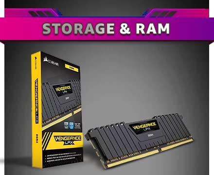 Storage & RAM