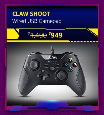 CLAW Shoot Wired USB Gamepad