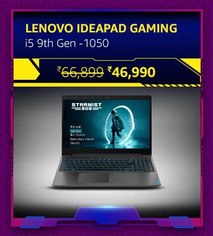 Lenovo Ideapad Gaming-i5 9th Gen -1050