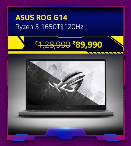ASUS ROG G14-Ryzen 5 1650Ti|120Hz