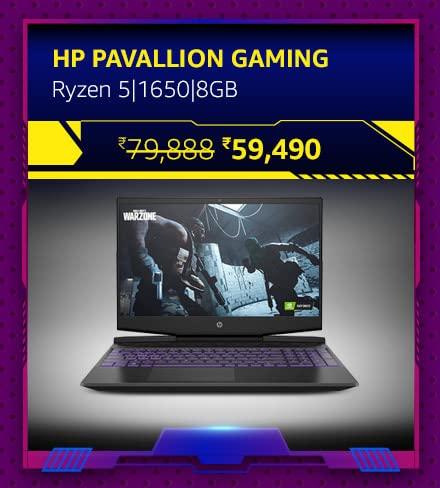 HP Pavallion Gaming-Ryzen 5|1650|8GB