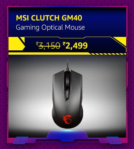 MSI Clutch GM40 Gaming Optical Mouse