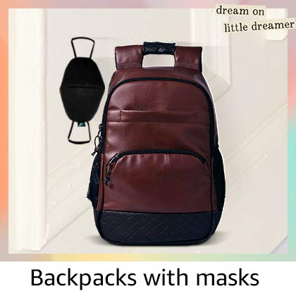 Backpacks with masks