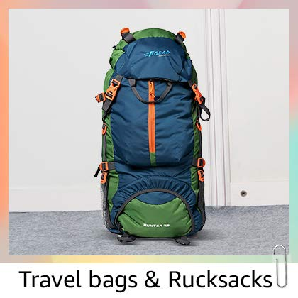 Travel bags & rucksacks