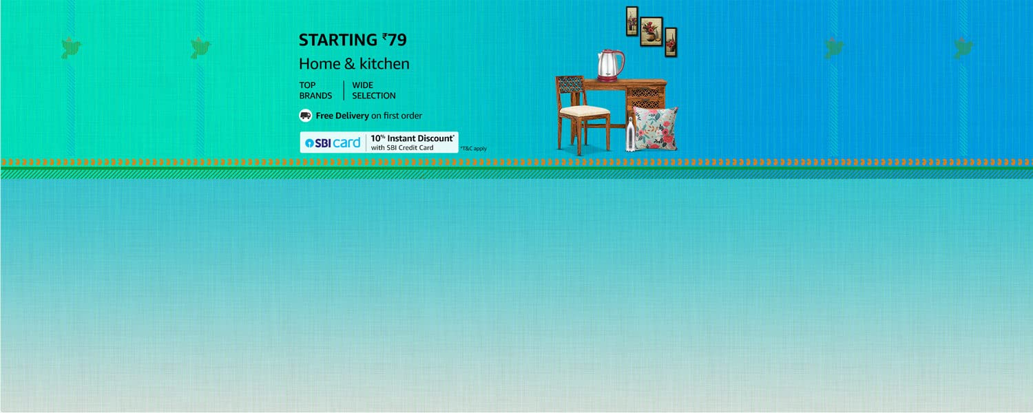 amazon.in - Home and Kitchen Items starting at just ₹79