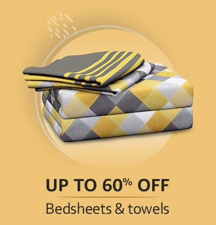 Cotton bedsheets, towels & more