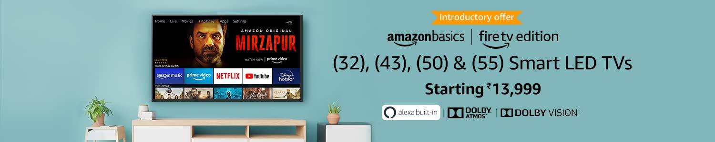 Amazon Basics TVs