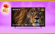 Large screen TVs | Up to 65% off