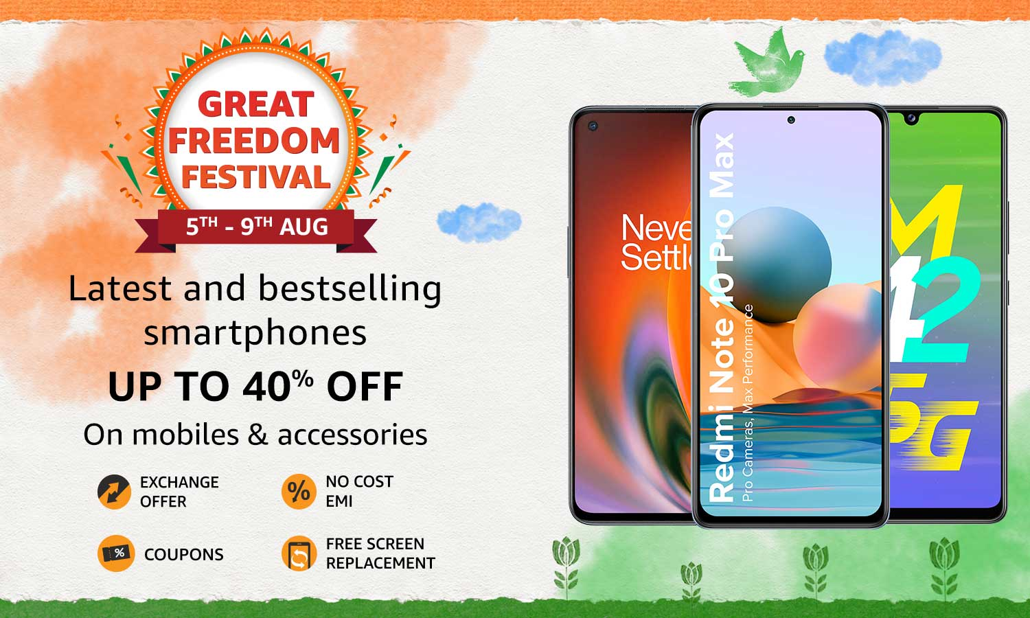 Up to 40% OFF on Latest & Best Selling Smartphones