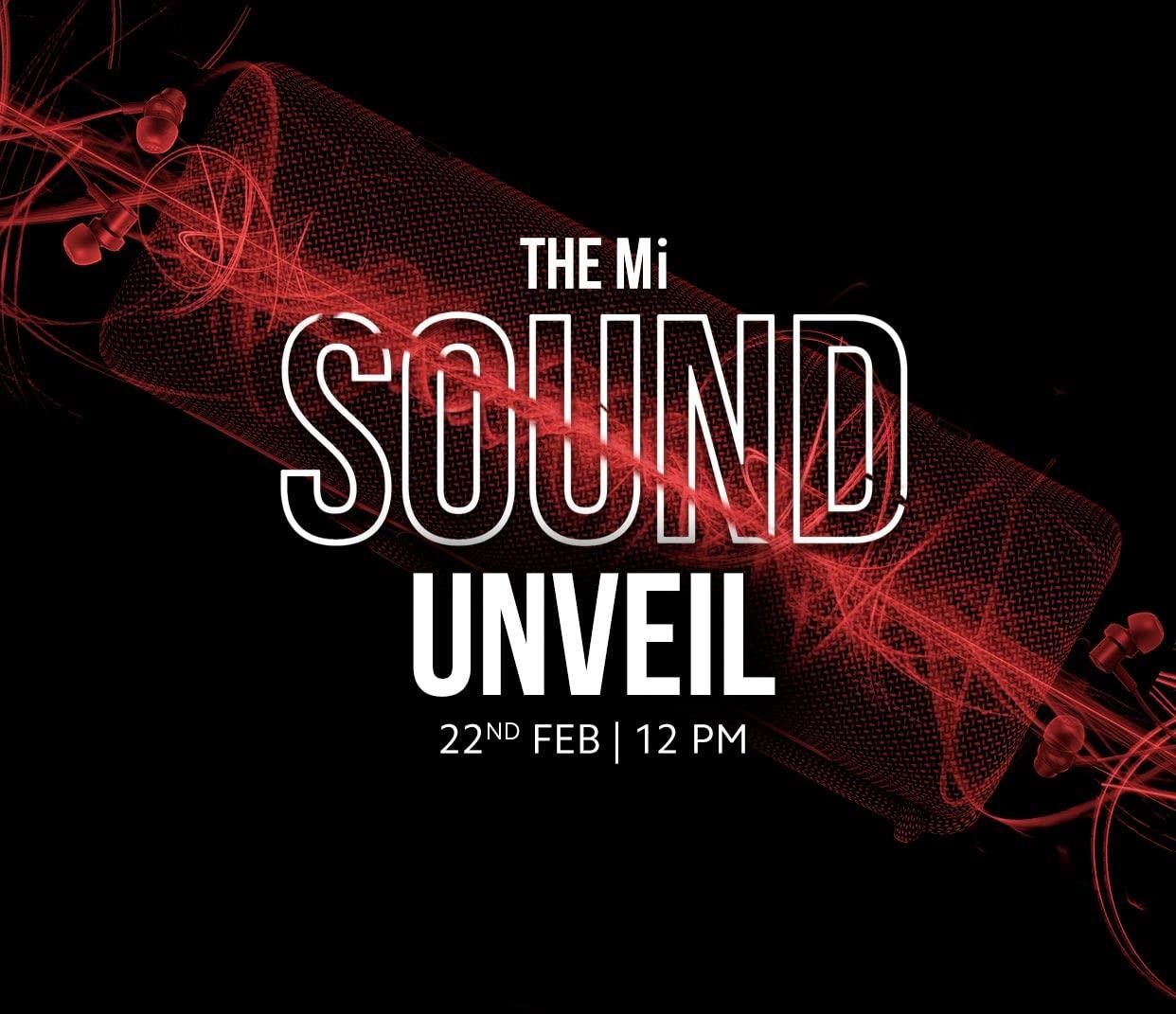 Xiaomi Mi Sound Unveil Event: Launch Speaker, Earphones and Neckband Soon