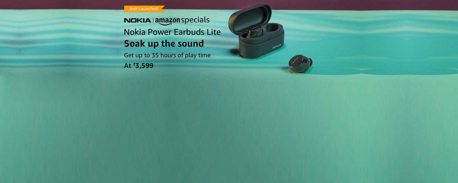 amazon.in - Nokia Power Earbuds Lite @ just ₹3599