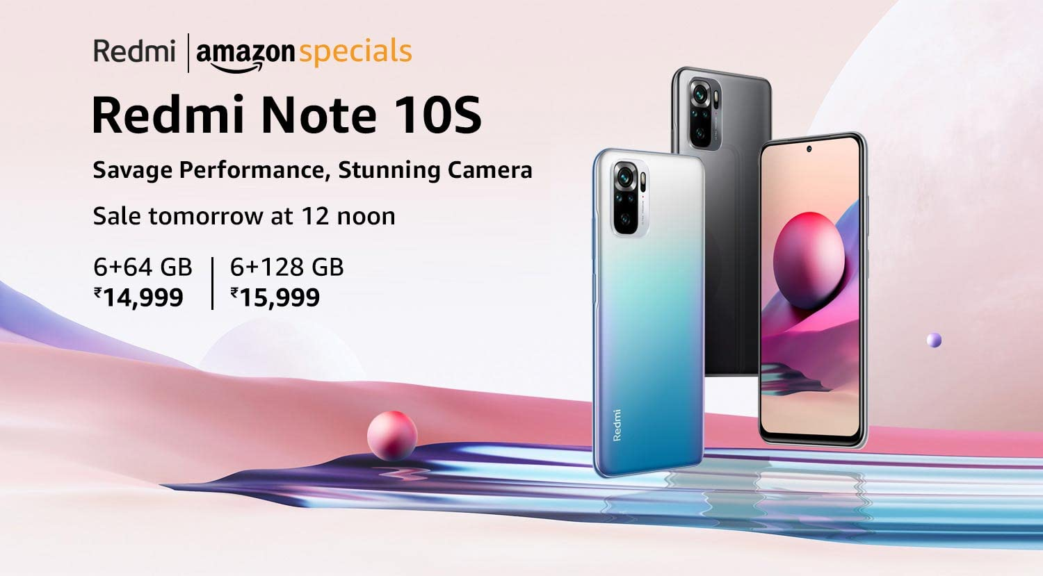 Redmi Note 10S| Just Launched |10% Instant Discount for SBI customers| EMI Starts from