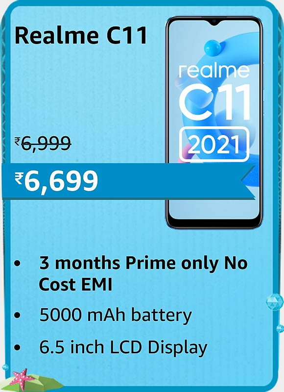 Amazon prime Day 2021 offer on Realme C11