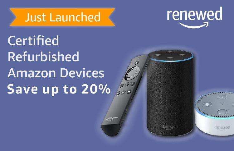 Refurbished Amazon Devices