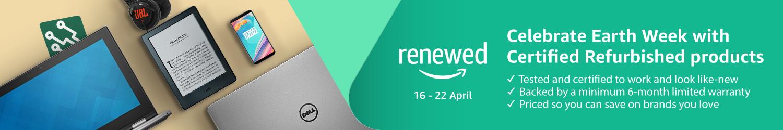 Celebrate Earth Week with Certified Refurbished