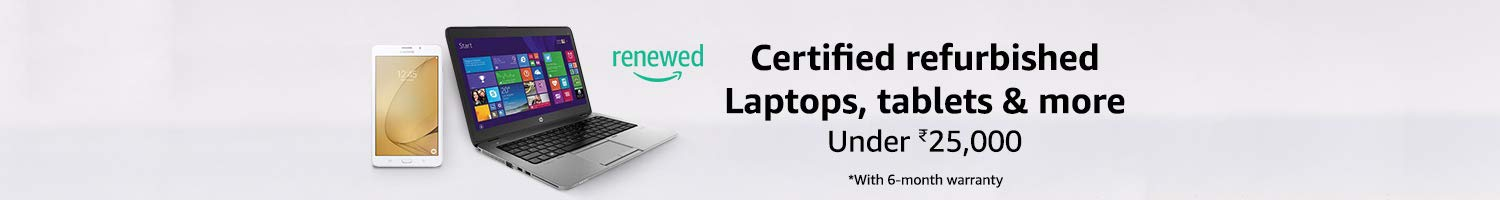 Certified Refurbished Laptops, Tablets & More