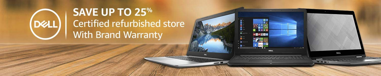 Certified Refurbised Dell Laptops