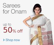 Sarees for Onam