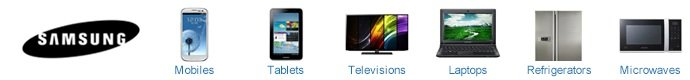 Buy Samsung Mobiles, Samsung Laptops, Tablets, Samsung Television, Refrigerators, and Microwaves at low prices on Junglee.com