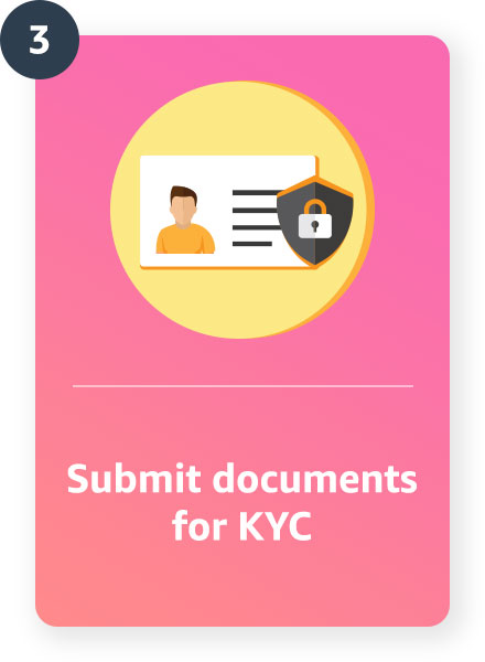 Complete your KYC