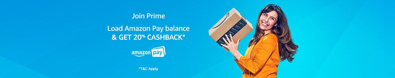 Join Prime & get 20% cashback