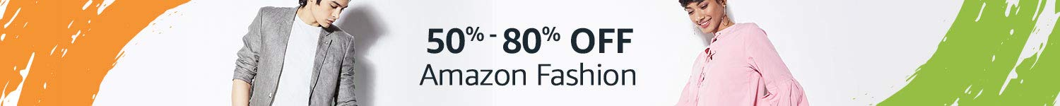 Up to 80% off Fashion