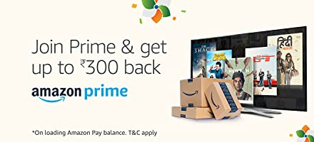 Join Prime and get Rs. 300 back