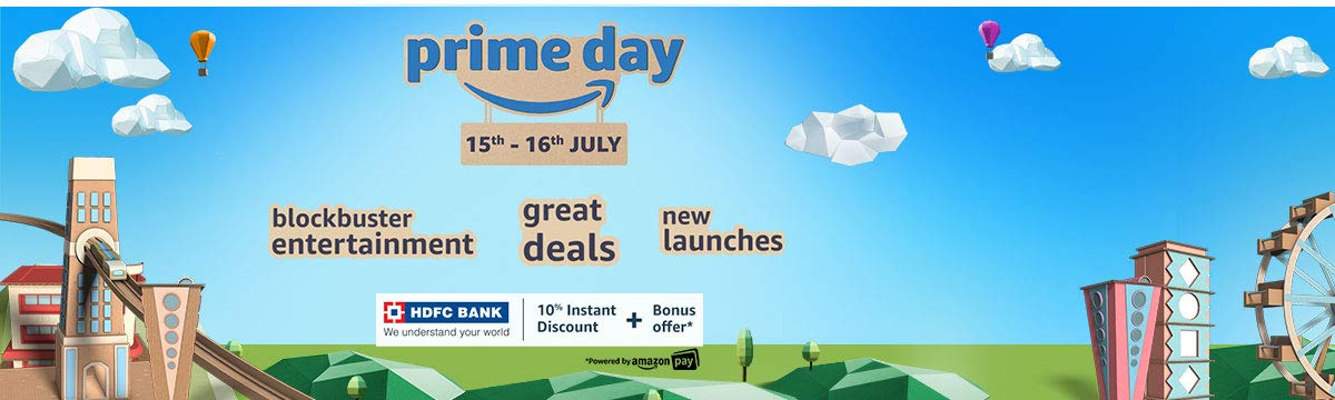 amazon Prime days Sale India 2019