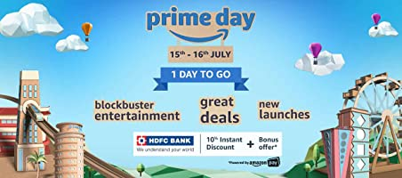 [ Last Day ] Amazon Prime Day : Upto 80% Off 15th - 16th July