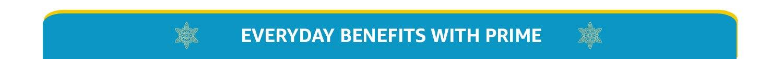 Prime Benefits
