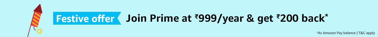 Join Prime & get Rs. 200 back