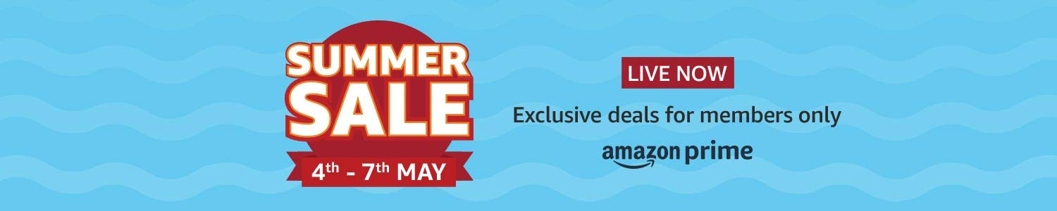Summer Sale | LIVE NOW only for Prime members