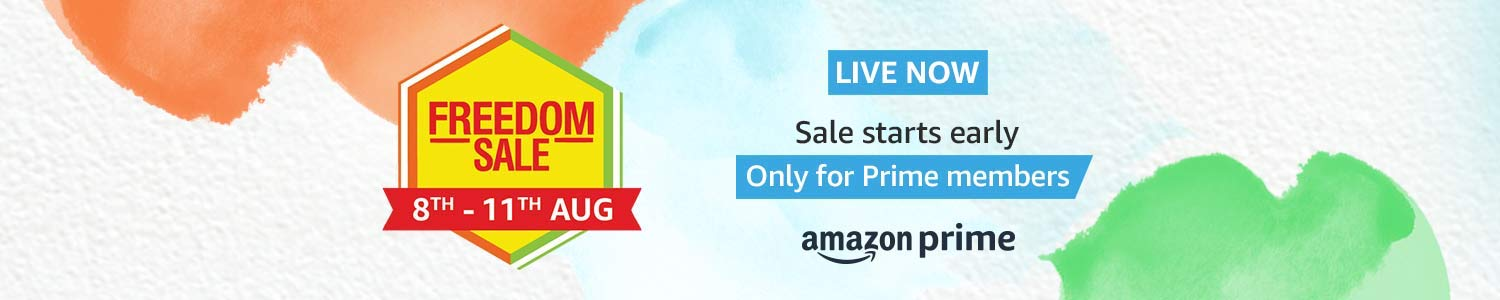 Sale starts early for only Prime members. 12 Noon, Today