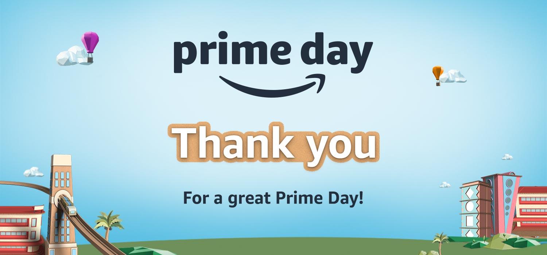Prime Day 6-7 Aug