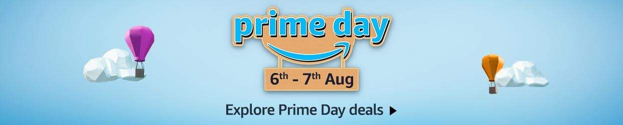 Amazon Prime Day - 6 to 7th August 2020